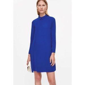 Royal blue COS dress NWT